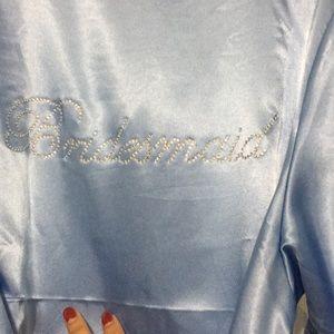Other - Light blue bridesmaid robe